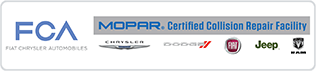 MOPAR Certified Collision Repair Facility logo